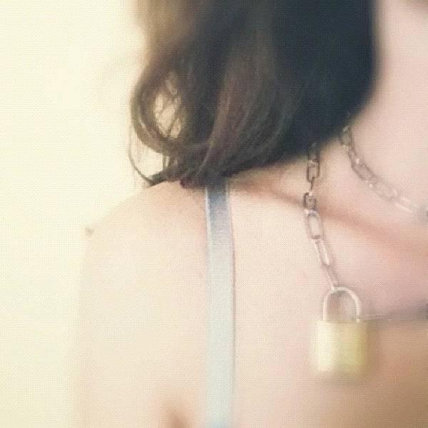 Nudes Wall Art - Photograph - My New Tiffany Necklace by Francesca Sara