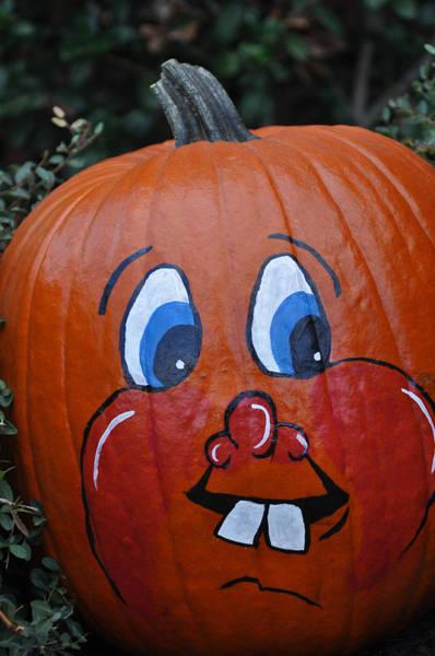 Photograph - My Painted Pumpkin 6 by Teresa Blanton