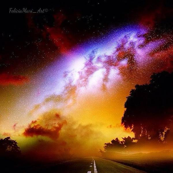 Pencil Wall Art - Photograph - ✨my Road Towards The Heavens✨ by Felicia Luxama