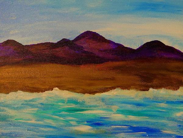 Painting - My Seascape Dream by Beth Akerman