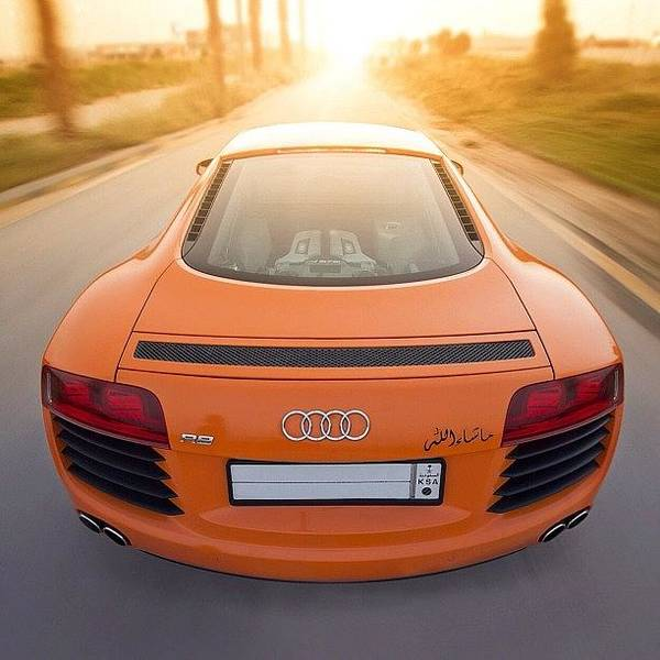 Audi Photograph - My Shot Of The #bydesign #audi #r8 From by Cooper Naitove