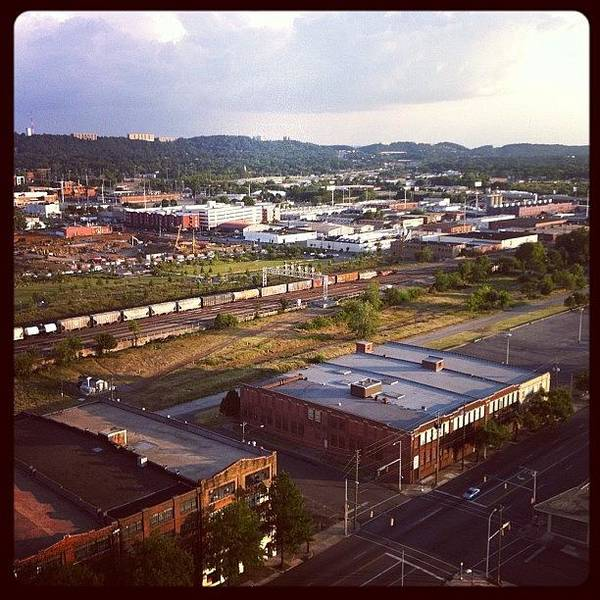 Politicians Wall Art - Photograph - My View Of @railroadpark by Thomas Jefferson Tower