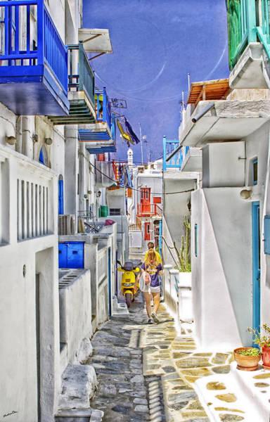 Houses Wall Art - Photograph - Mykonos - Greece by Madeline Ellis