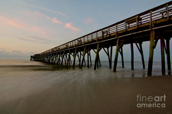 Wall Art - Photograph - Myrtle Beach State Park Pier by Matthew Trudeau