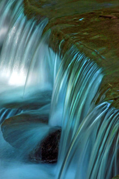 Swallow Falls State Park Wall Art - Photograph - Mystical Falls by Mike Flynn