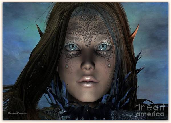 Digital Art - Mystikal by Sandra Bauser Digital Art