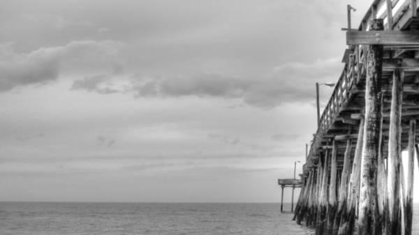 Photograph - Nags Head Pier by Brad Scott