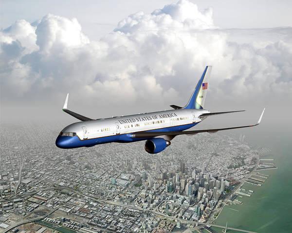 Digital Art - Nancy's Jet by Mike Ray