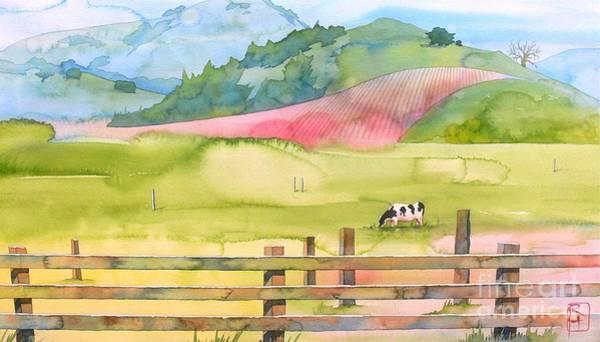 Napa Painting - Napa Valley by Robert Hooper