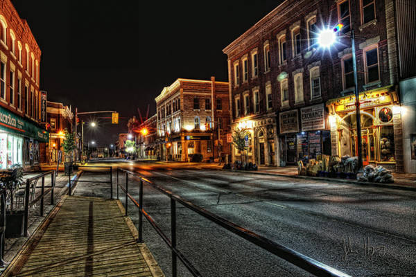 Napanee Photograph - Napanee After Midnight by John Herzog