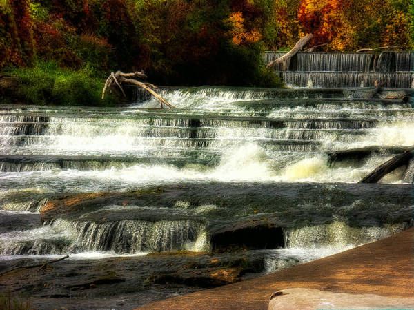 Napanee Photograph - Napanee Falls Autumn by John Herzog