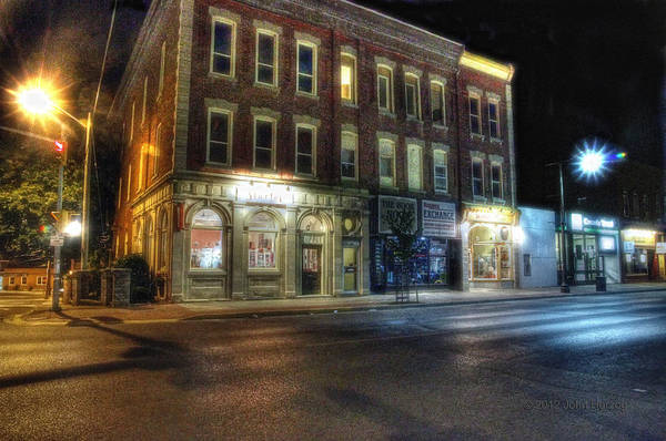 Napanee Photograph - Napanee Fashion District by John Herzog