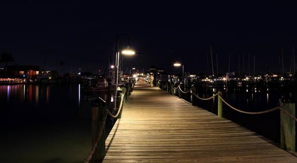 Photograph - Naples Dock by Sean Allen