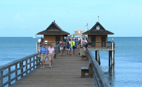 Photograph - Naples Fishing Pier by Keith Stokes
