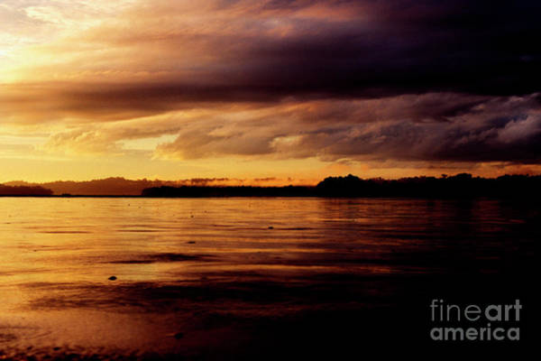 Photograph - Napo River Stormy Sunrise by Thomas R Fletcher