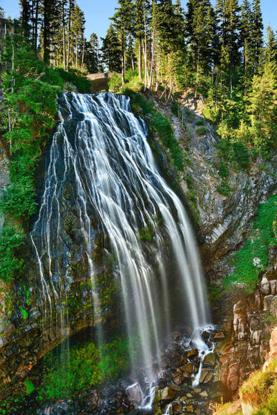 Photograph - Narada Falls by Greg Norrell