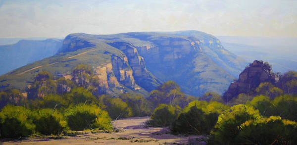 Valley Painting - Narrow Neck by Graham Gercken
