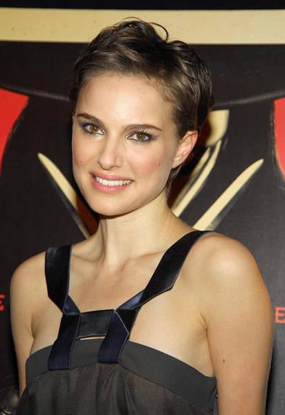Wall Art - Photograph - Natalie Portman At Arrivals For V For by Everett
