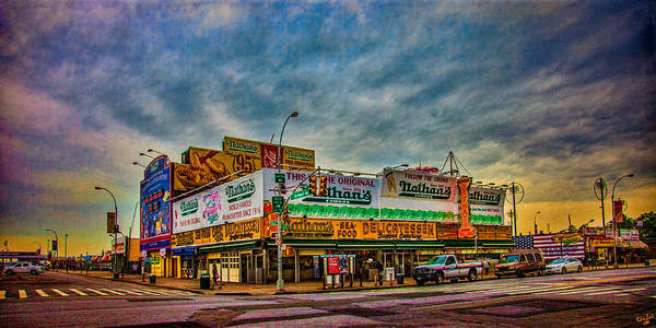 Photograph - Nathan's Famous Hot Dog Emporium by Chris Lord