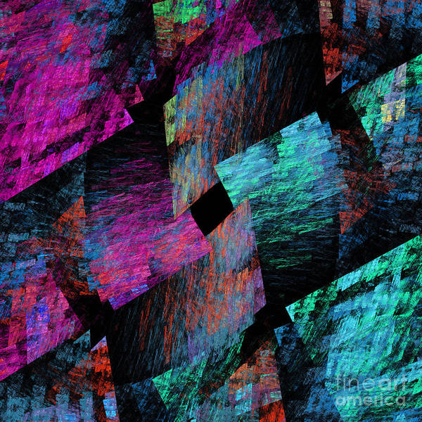 Quilt Digital Art - Native Quilt Abstract by Andee Design