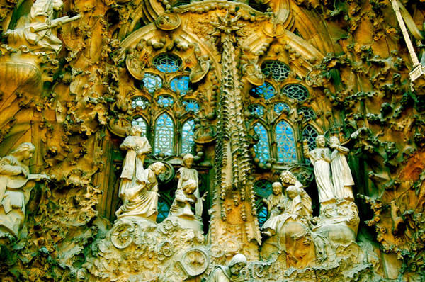 Photograph - Nativity Facade by HweeYen Ong