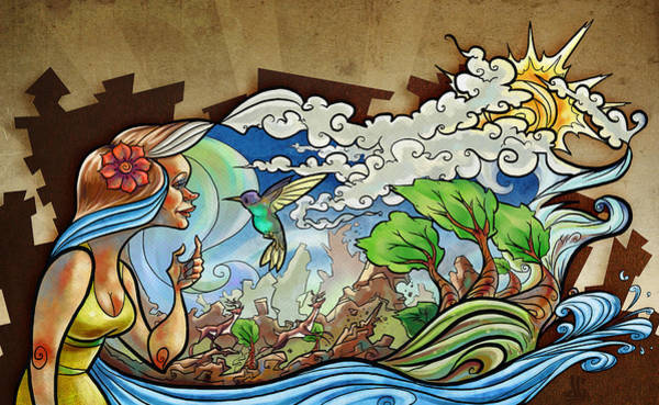 Wall Art - Digital Art - Natura by Jayson Green
