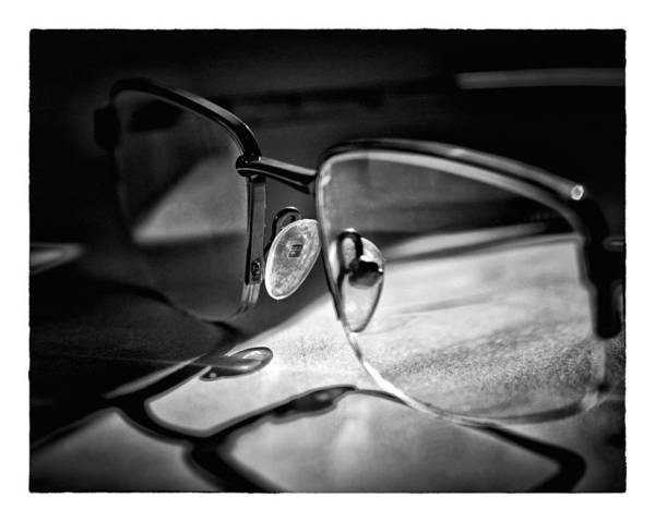 Photograph - Natural Light - Glasses by Brian Carson