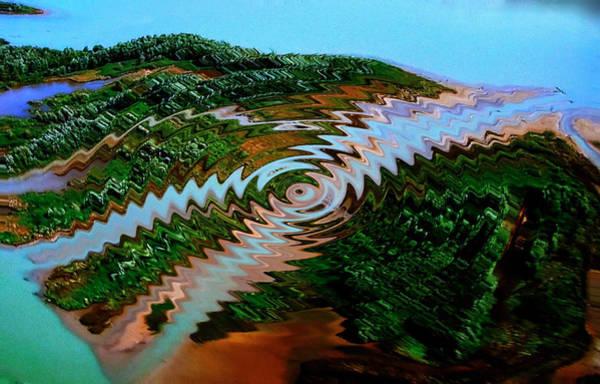 Photograph - Nature Joy Year 3010 by Colette V Hera  Guggenheim