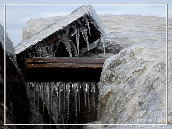 Photograph - Natures Ice Sculptures 5 by Rose Santuci-Sofranko