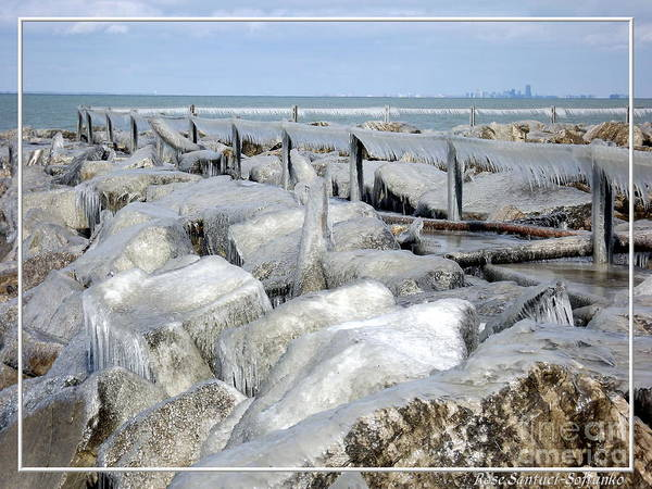 Photograph - Natures Ice Sculptures 9 by Rose Santuci-Sofranko