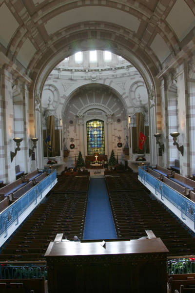 Photograph - Naval Academy Chapel by Emery Graham