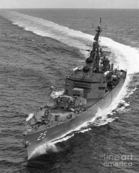 Photograph - Navy: Uss Bainbridge, 1968 by Granger