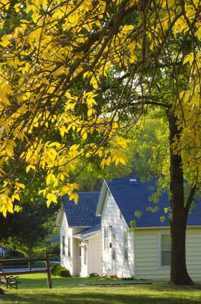Christine Falls Photograph - Nebraska City Autumn No. 2 by Christine Belt