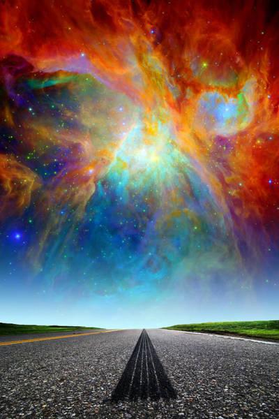 Photograph - Nebulous Highway by Larry Landolfi