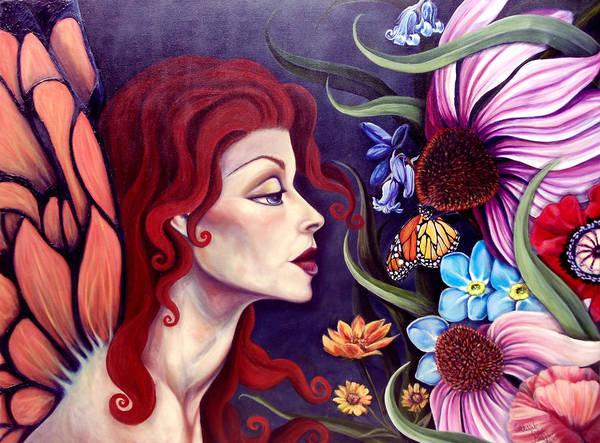 Wall Art - Painting - Nectur by Lorraine Davis Martin