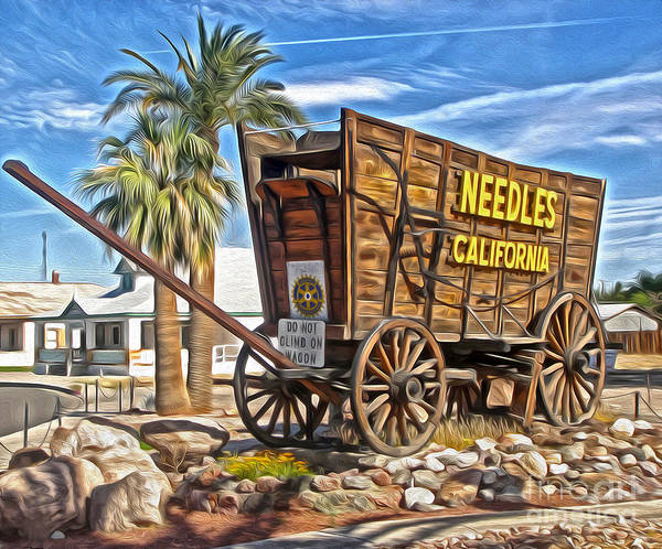 Painting - Needles California by Gregory Dyer