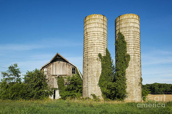 Lewes Photograph - Neglected Barn by John Greim