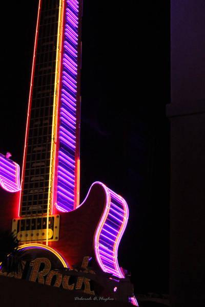 Photograph - Neon Games by Deborah Hughes