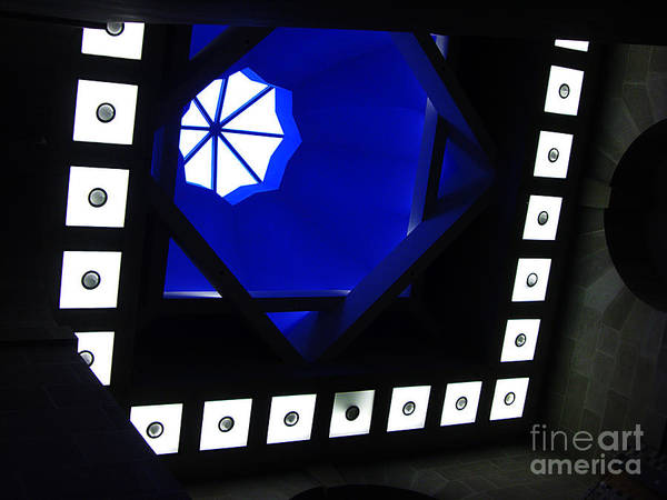 Photograph - Neon Geometry by Xueling Zou