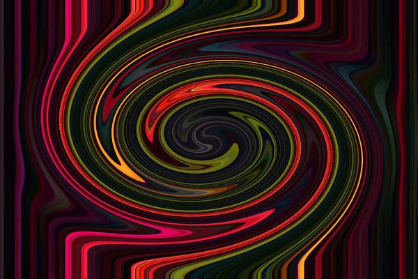Photograph - Neon Swirl by Sheila Kay McIntyre
