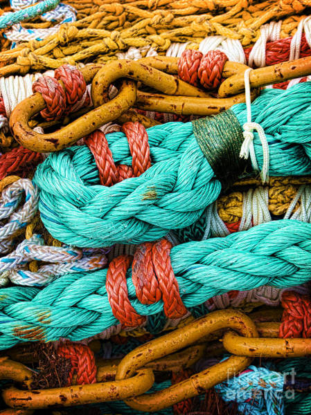 Nets And Knots Number Four Art Print