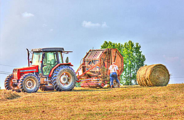 Photograph - New Bale by Barry Jones