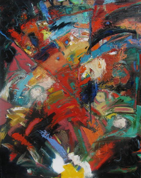 Non Representational Painting - New Direction 2 by Gary Coleman