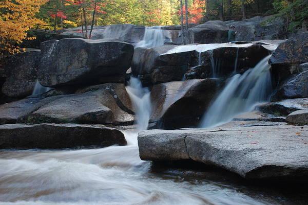 Photograph - New Hampshire Waterfall 1 by Nancy De Flon