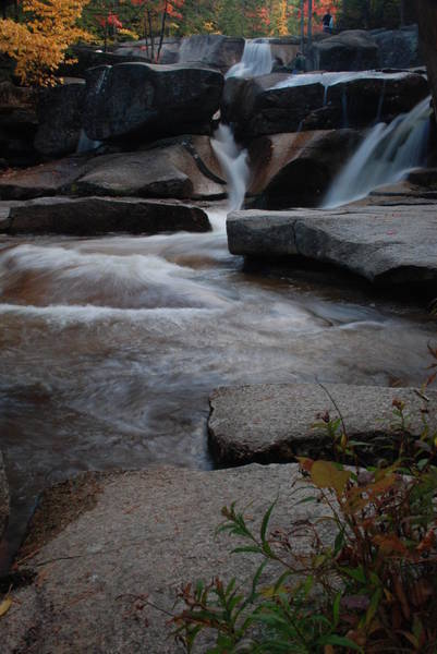 Photograph - New Hampshire Waterfall 2 by Nancy De Flon