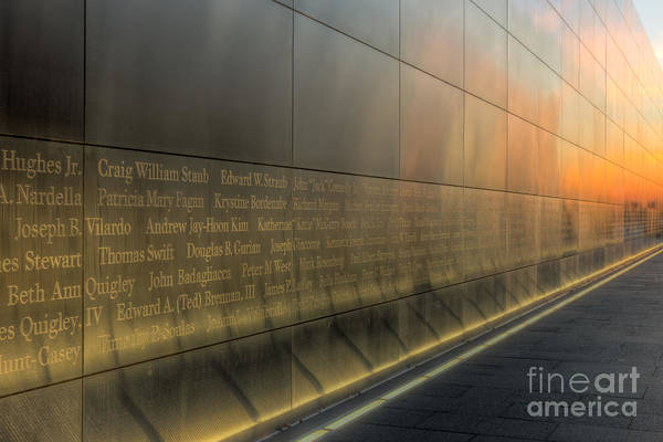 Photograph - New Jersey Empty Sky Memorial IIi by Clarence Holmes