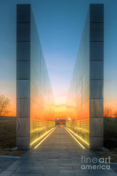 Photograph - New Jersey Empty Sky Memorial Iv by Clarence Holmes