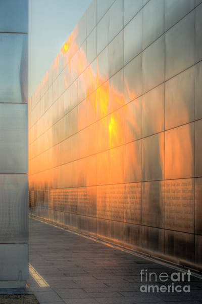 Photograph - New Jersey Empty Sky Memorial V by Clarence Holmes