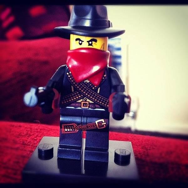 Guns Photograph - New Lego Bandit! #lego #bandit #fun by Joseph Gore