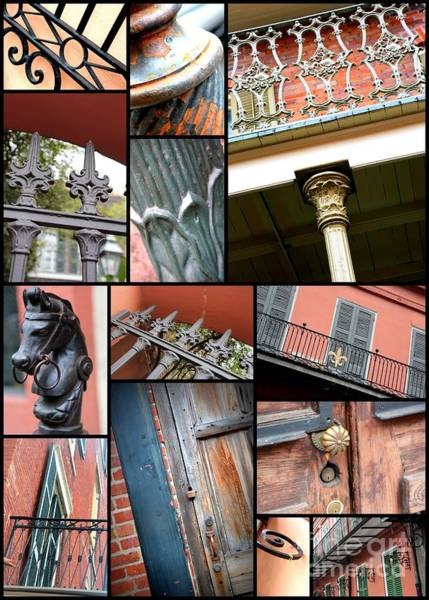 Photograph - New Orleans Collage 1 by Carol Groenen